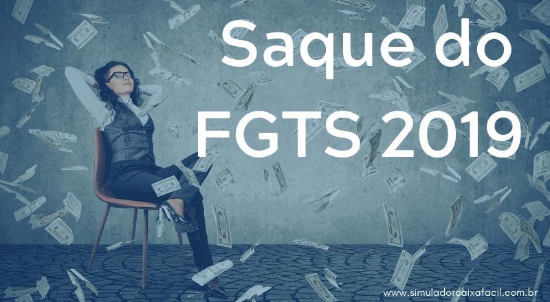 Liberçação de Saque FGTS 2019