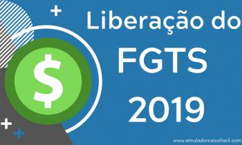 Liberação do Saque FGTS 2019 – Confira o Calendário!