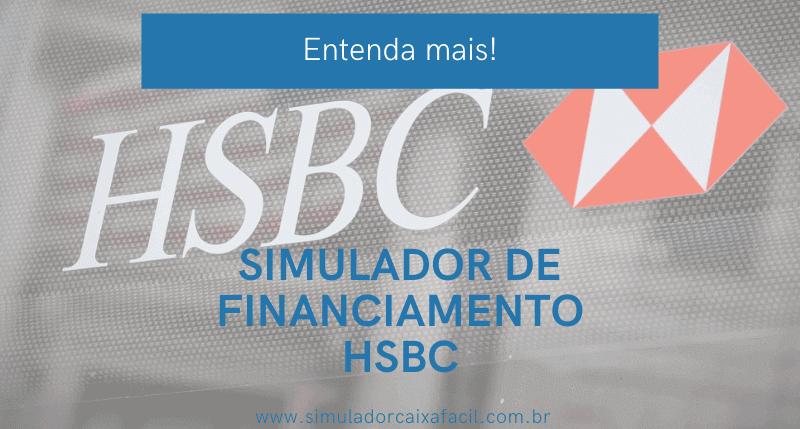 simulador de financiamento hsbc