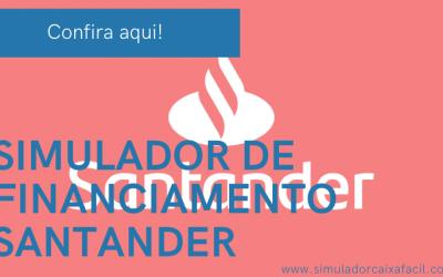Simulação Financiamento Santander