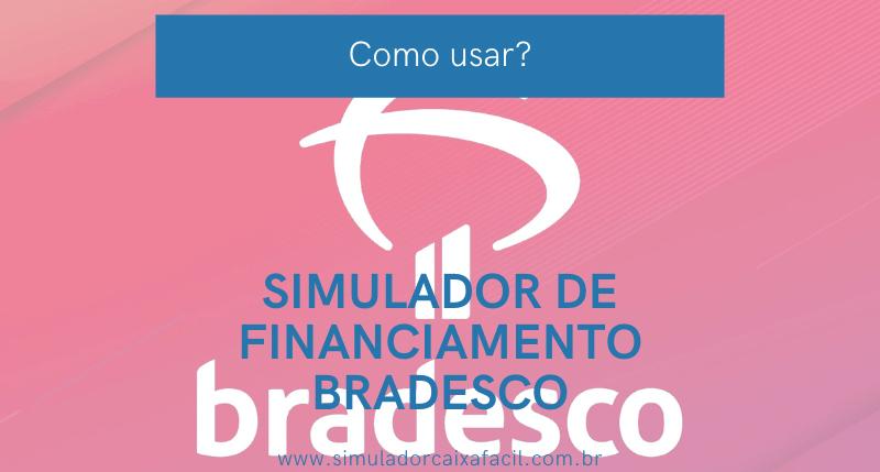 simulador de financiamento bradesco