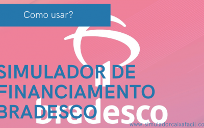Simulador de Financiamento Bradesco