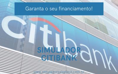 Utilize o Simulador Citibank e garanta seu financiamento!