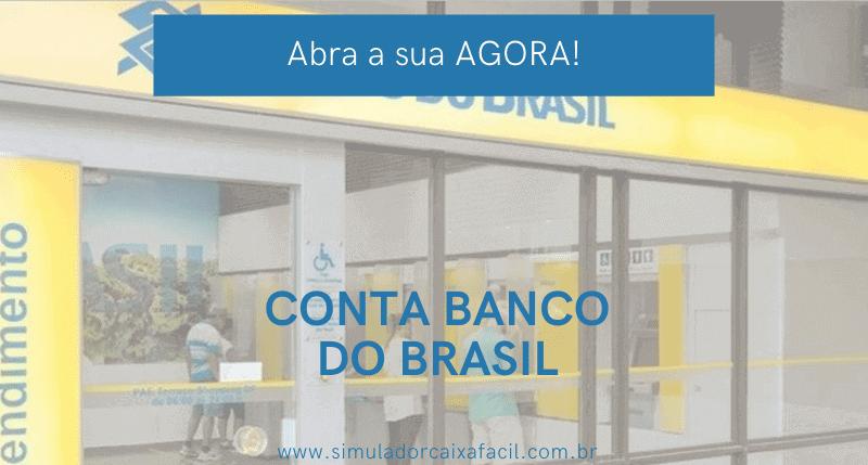 abrir conta corrente banco do brasil