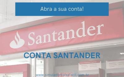 Santander conta corrente, como solicitar?