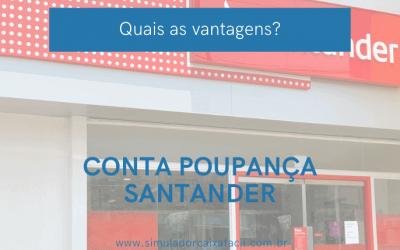 Solicite a sua Conta Poupança Santander!